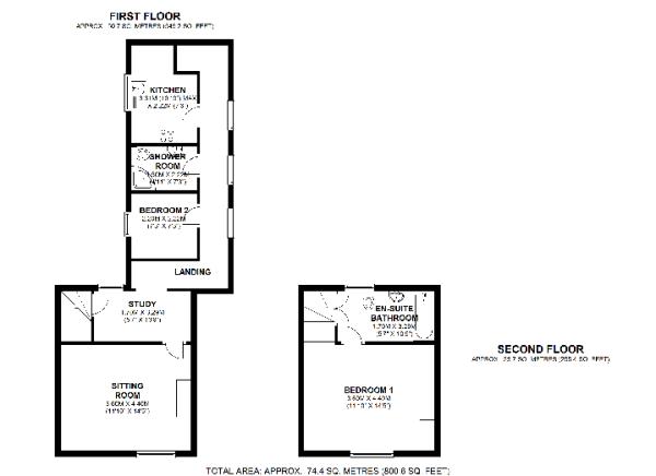 1st & 2nd floor plan