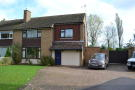 semi detached home in Stuart Crescent, Gartree...