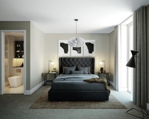 CGI - Master Bedroom