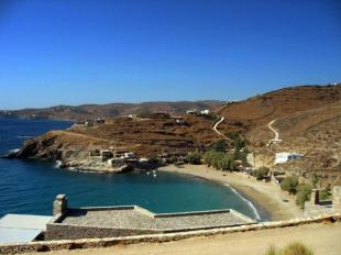 Land in Cyclades islands, Tzia...