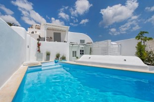 property in Cyclades islands...