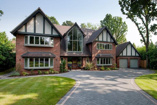 bedroom detached house for sale in the crescent hampton in arden
