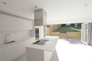 Kitchen with bi-folds