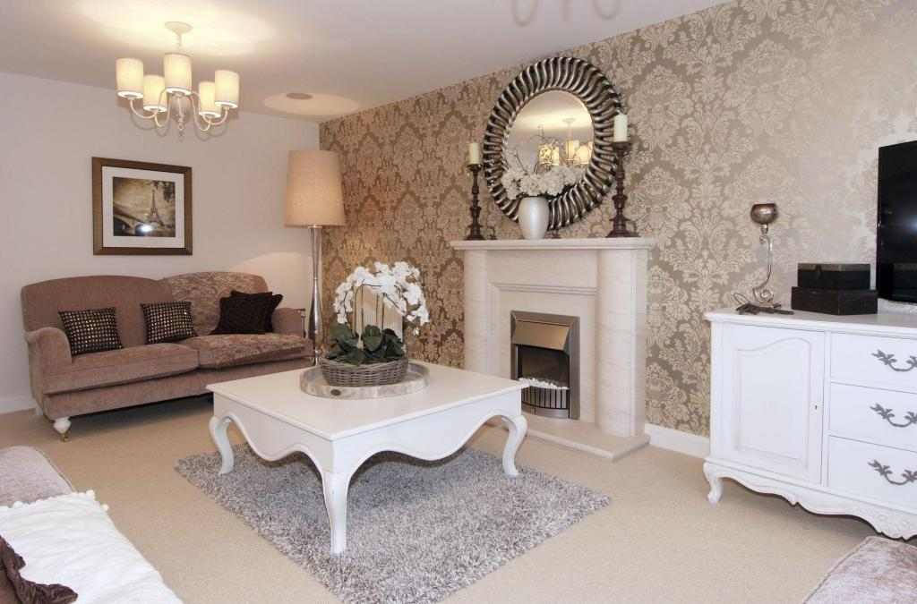 4 bedroom detached house for sale in sandlands way for Show home living room designs