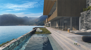 new development in Lombardy, Como...