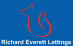 Richard Everett Lettings , South Brent logo