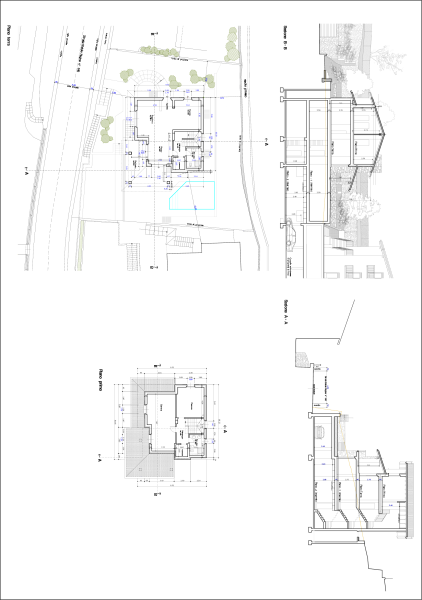 ground + first floor