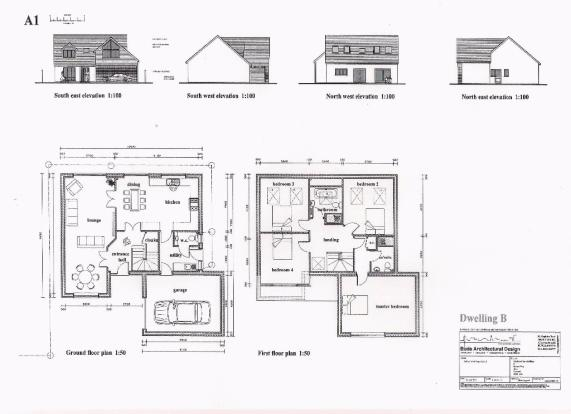 ELEVATION & FLR PLAN