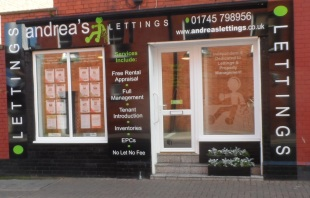 Andrea's Lettings , Prestatynbranch details