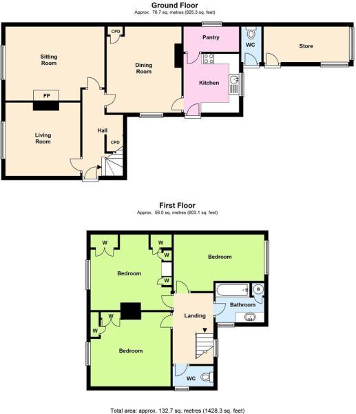 Floor plan 6a Davent