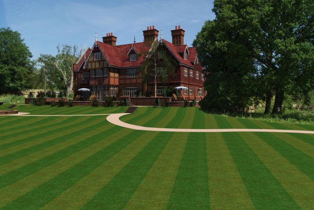 Lake House CGI