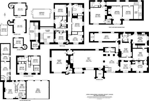 8 Bedroom Detached House For Sale In East Barsham Norfolk