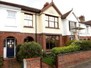 Terraced property in Britannia Road...