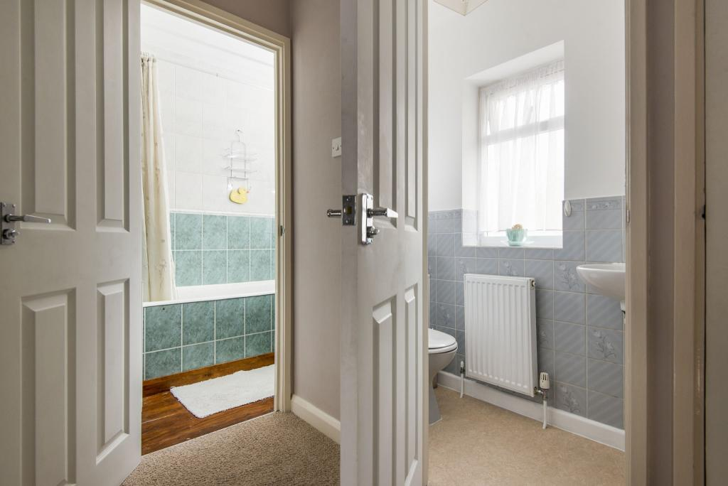 Bedroom and WC