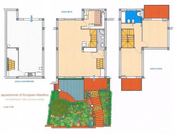 3 levels floorplans