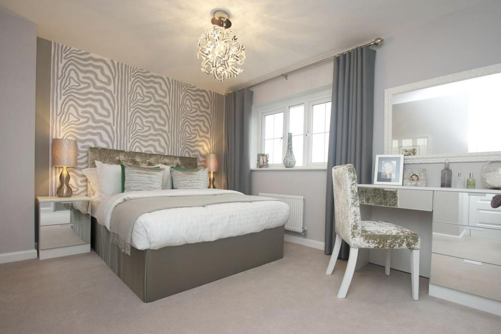Falmouth bedroom. 3 bedroom detached house for sale in North Dean Avenue  Keighley