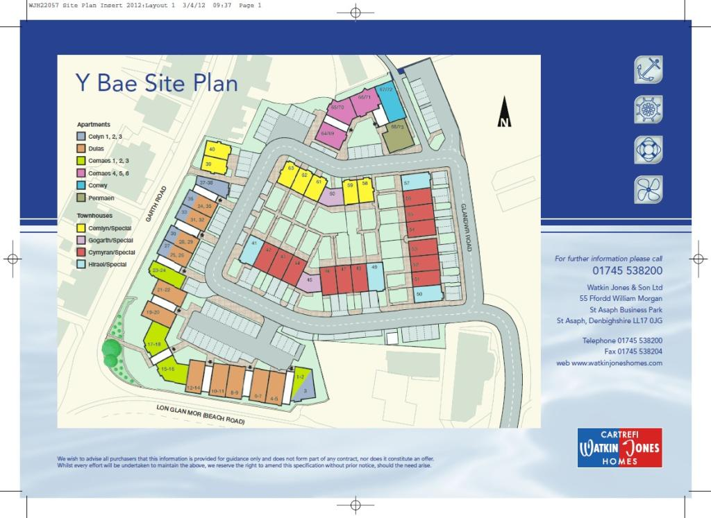 Y bae new homes development by watkin jones homes for Trademark quality homes floor plans