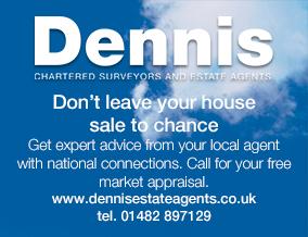 Get brand editions for Dennis Chartered Surveyors & Estate Agents, Hedon