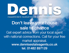 Get brand editions for Dennis Chartered Surveyors & Estate Agents, Hedon