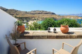 Terraced property in Dodekanes Inseln, Lindos...