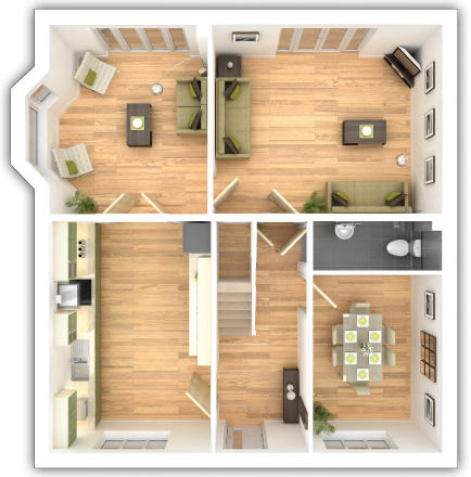 Thornford Ground Floor Plan