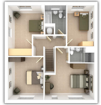 Thornford First Floor Plan