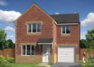 4 bedroom new house in School Street, Hebburn...