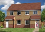 3 bed new home for sale in School Street, Hebburn...