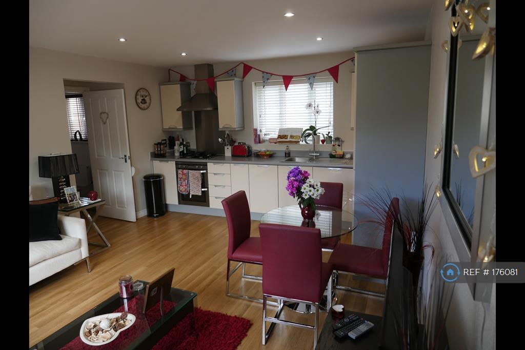 Open Plan Front Room/Kitchen