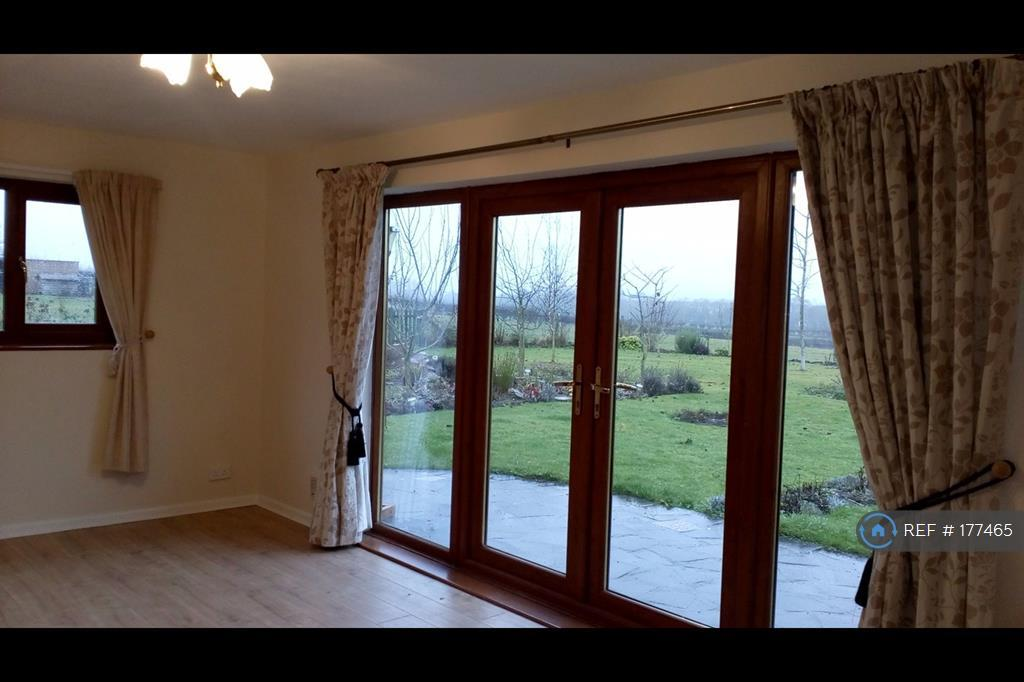 French Doors That Lead Onto Patio Area