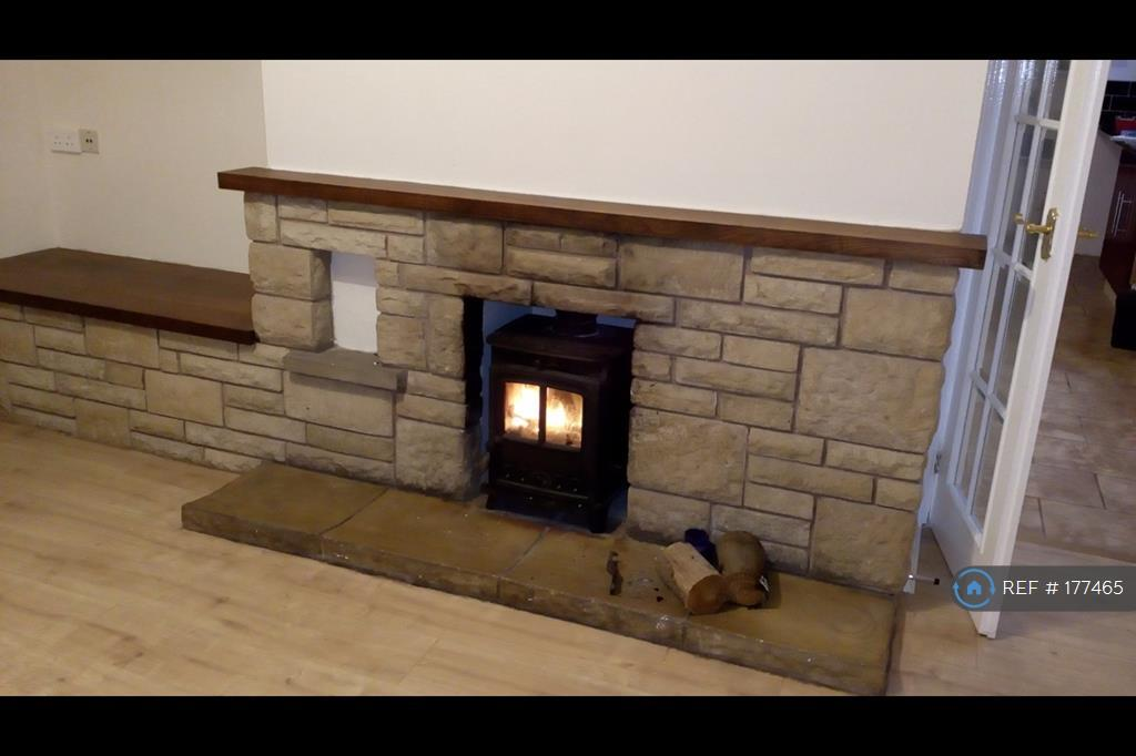 Fire Place With Log Burner