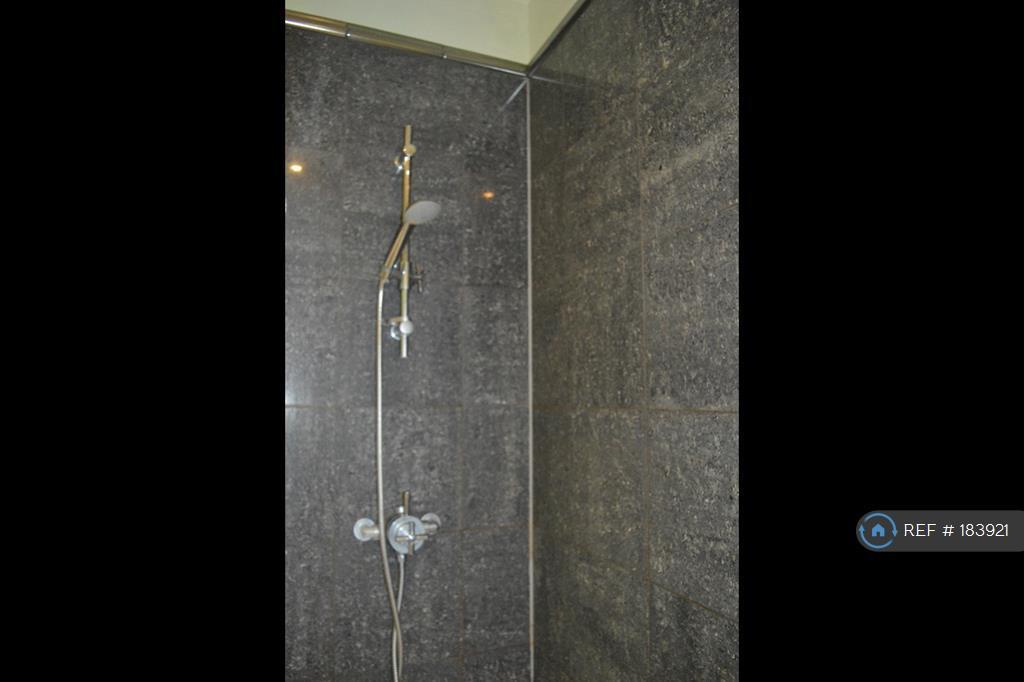 Shower With Marbel Tiling
