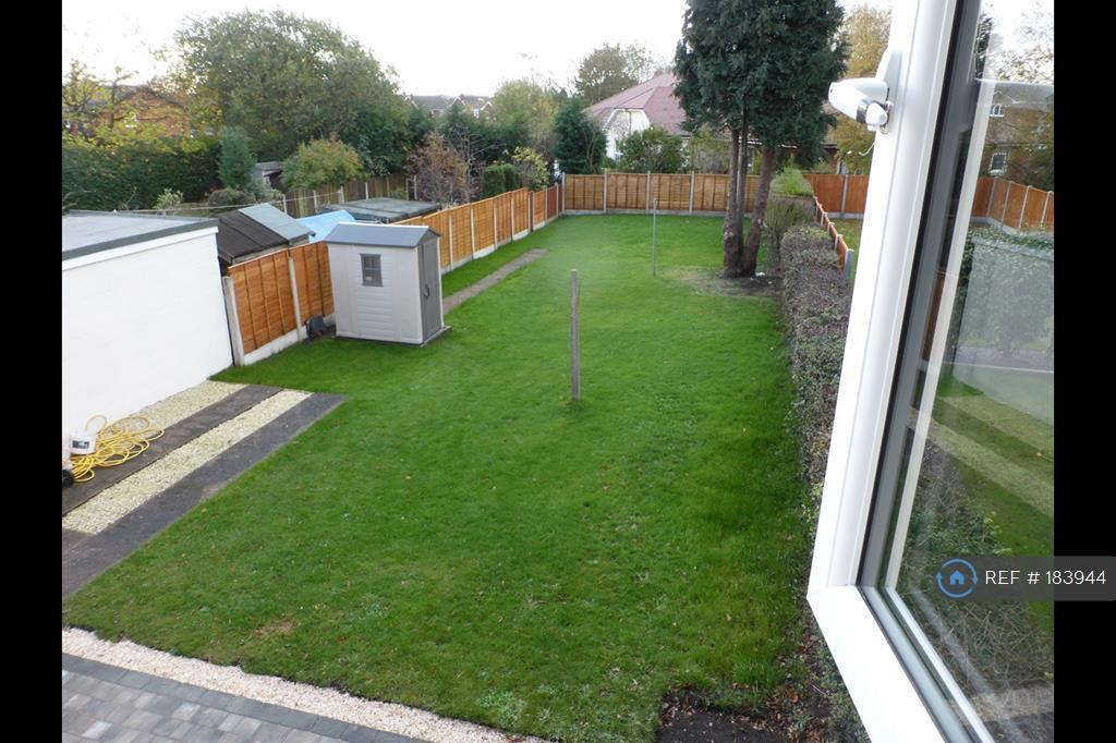 Garden View From Main Bedroom