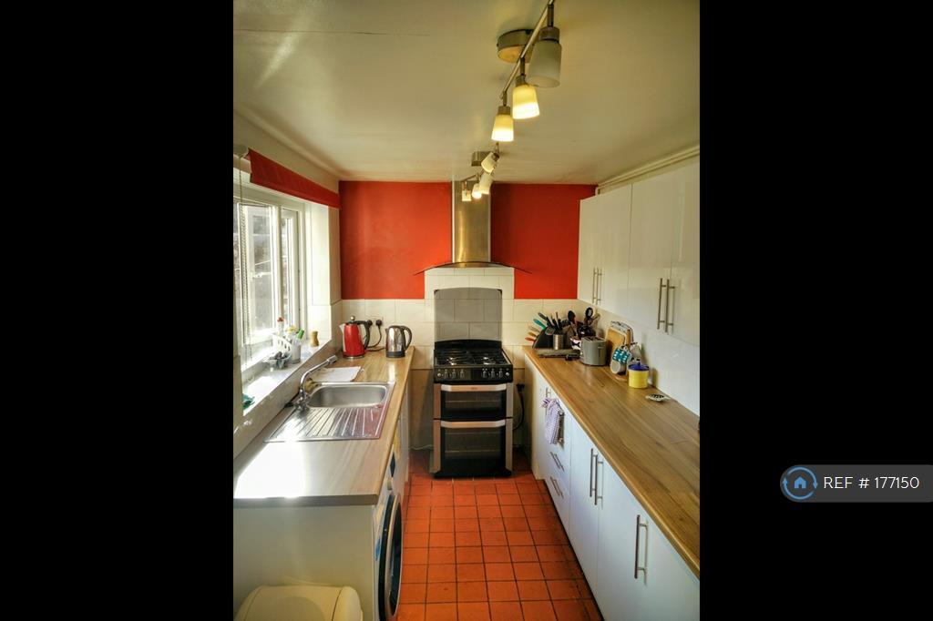 Large Kitchen With Two Big Fridge-Freezers