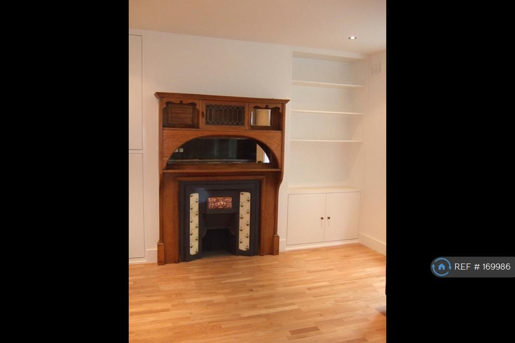 Fireplace And Fitted Shelving