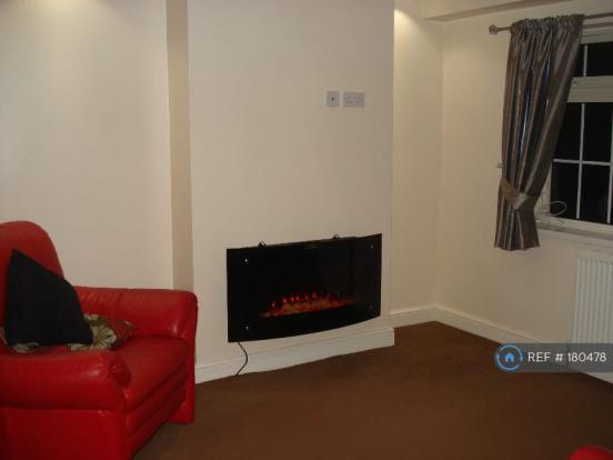 Lounge With Modern Wall Hanging Fire