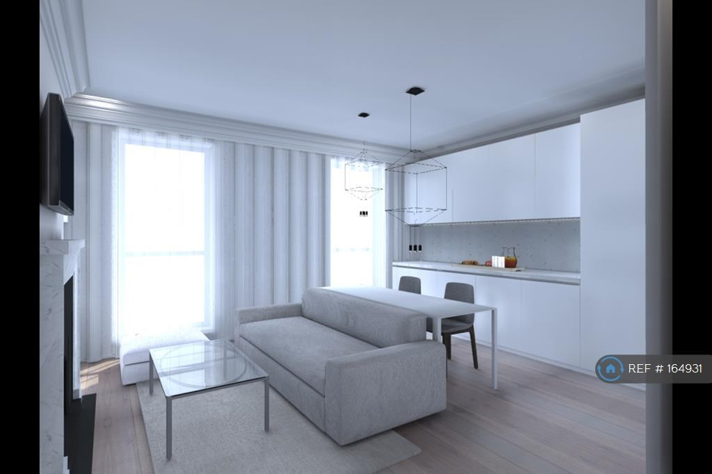 Kitchen Living Render