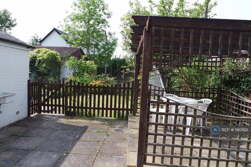 Patio Area And Garden