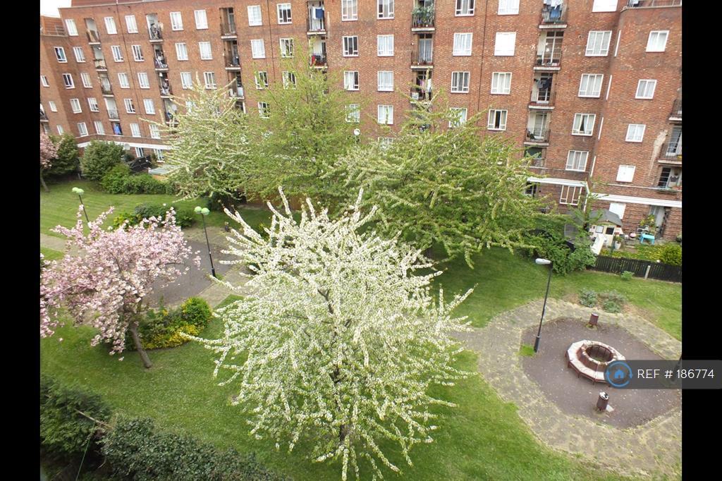 Balcony View Of Gardens