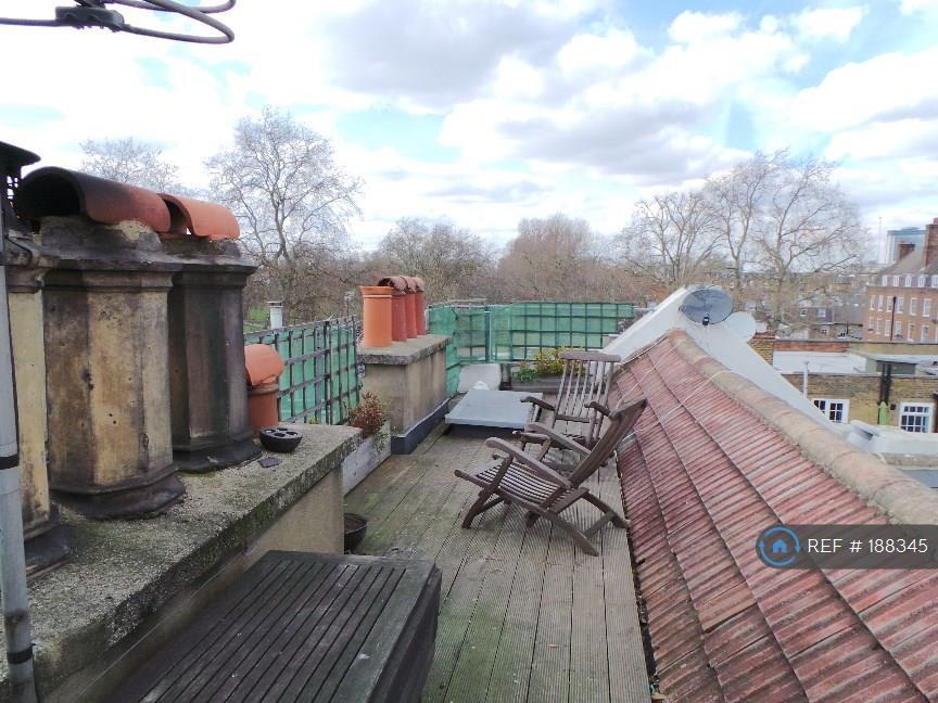 Roof Terrace Towards Eel Brook Common