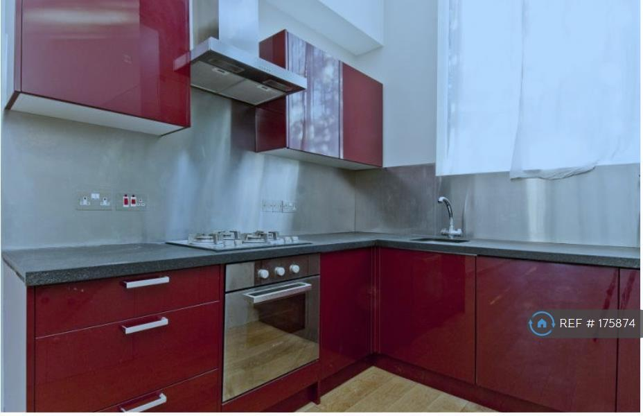 Kitchen With Granite Work Surface