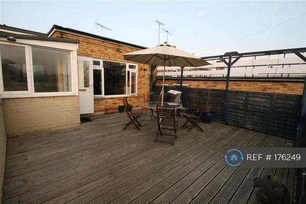Decked Roof Terrace