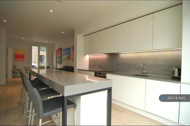 Kitchen With Island And Bar Stools