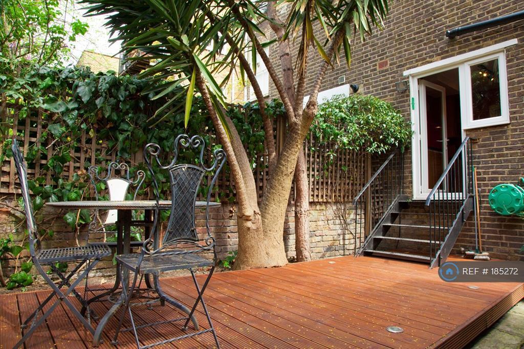 Private Garden - Secure Double Glazed Kitchen Door