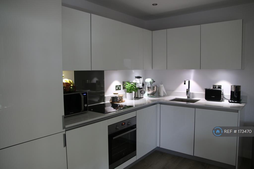 Modern, Integrated Kitchen