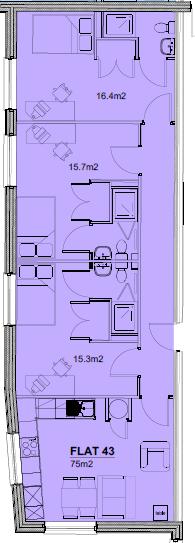 Flat 43
