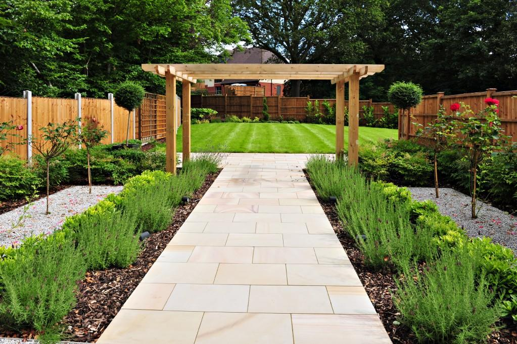 Click to see a larger image for Paved garden designs