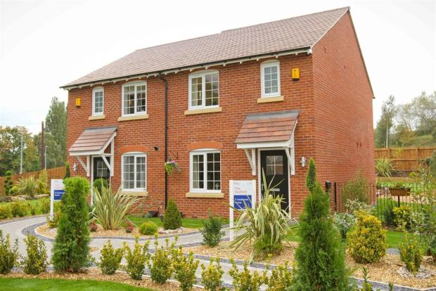 Actual Image of the Gosford & Dadford Showhomes at Winnington Village