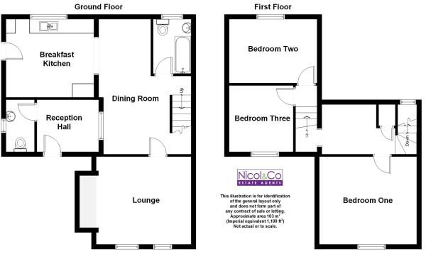 Floorplan The Cottag