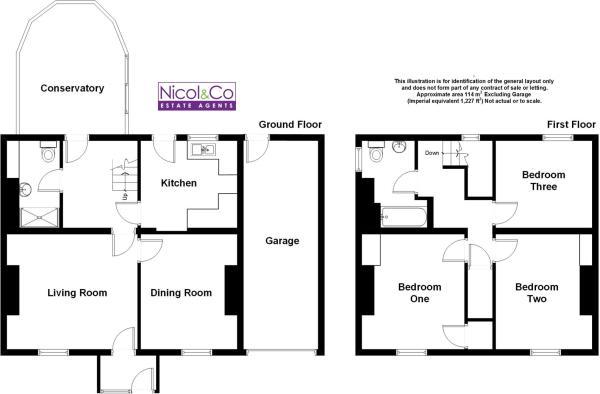 Floorplan 19 Bedward